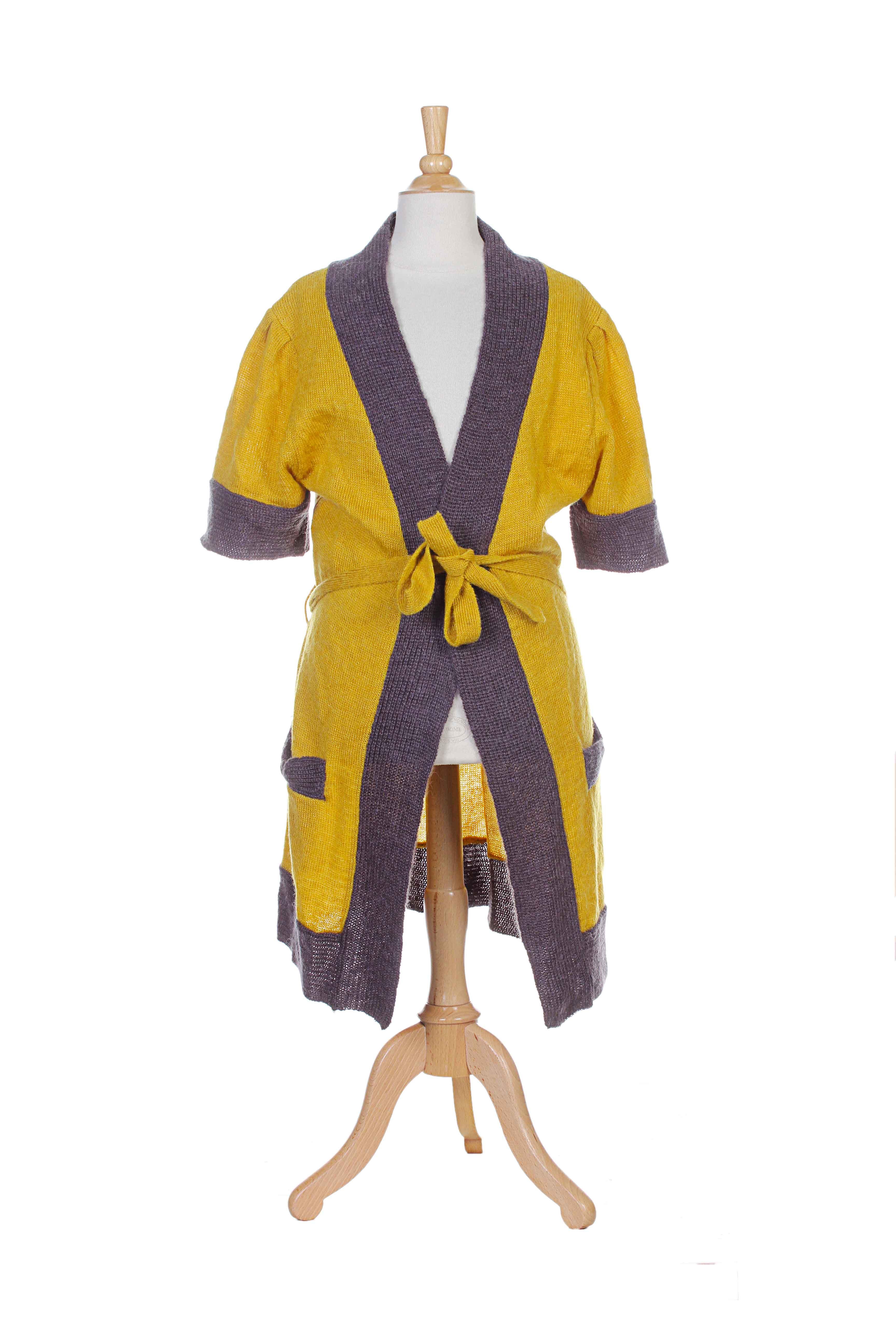 yumi gilet femme de couleur jaune en soldes pas cher 630227 jaune0 modz. Black Bedroom Furniture Sets. Home Design Ideas