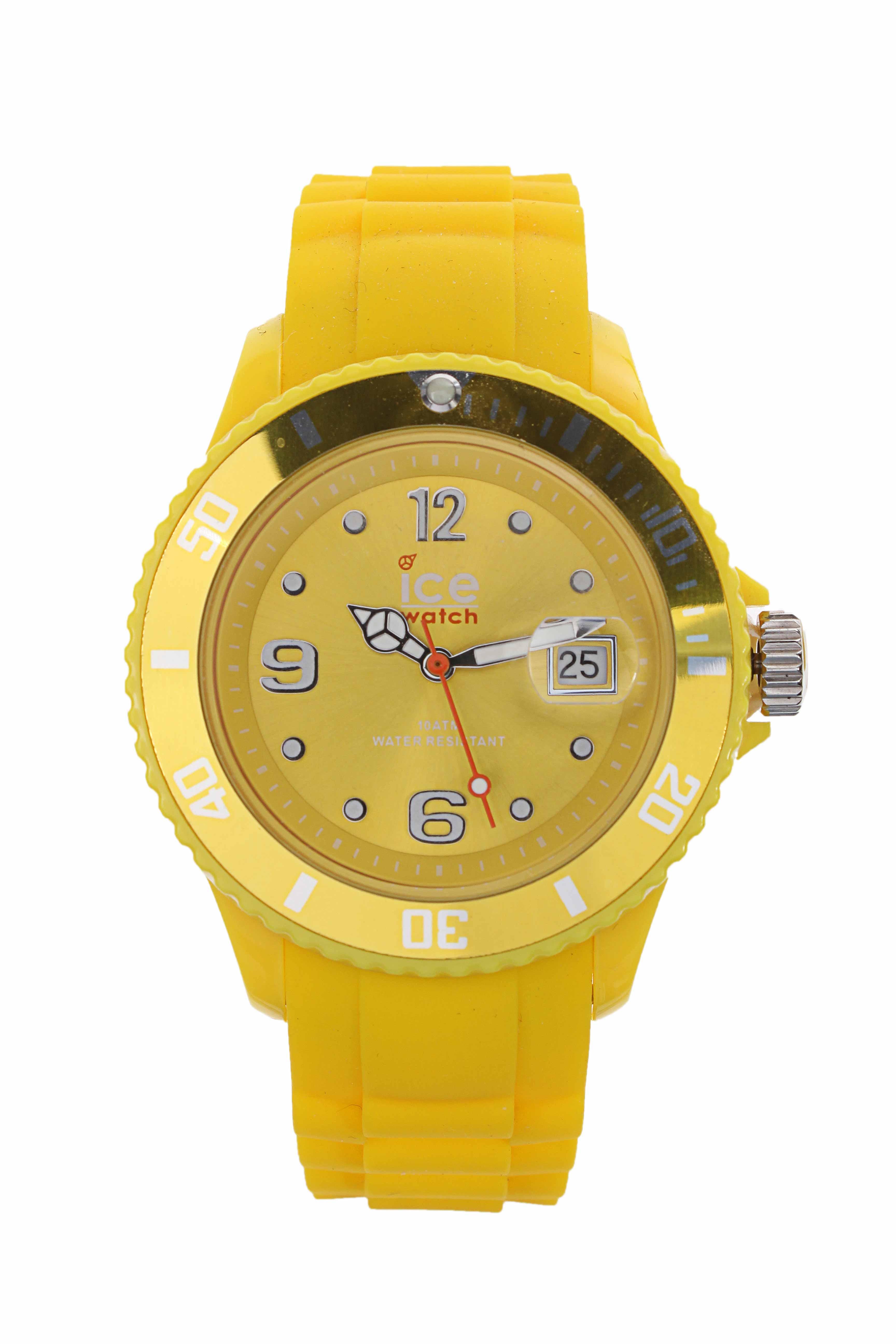 ice watch montres femme de couleur jaune en soldes pas cher 749471 jaune0 modz. Black Bedroom Furniture Sets. Home Design Ideas